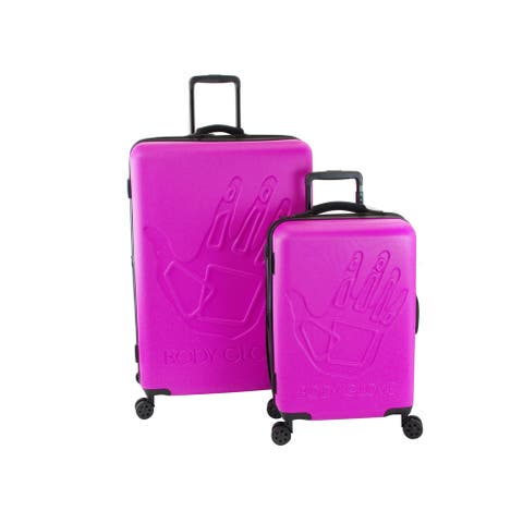 Body Glove Redondo Pink 2-piece Hardside Spinner Luggage Set