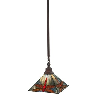 Link to 10 Inch sq prairie dragonfly Pendant.609 Similar Items in Pendant Lights