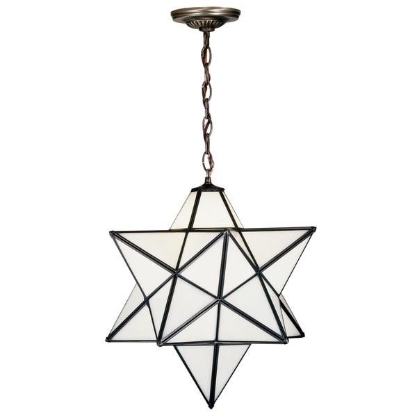 18 Inch Wide moravian star Pendant. Opens flyout.
