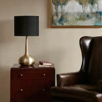 "Madison Park Spire Gold Table Lamp - 15Dx27H"" (As Is Item)"
