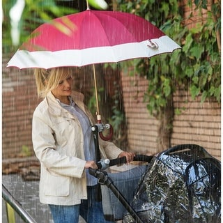 Dry&Go Deki Adjustable Umbrella Holder For Golf Carts, Baby Strollers/Prams And Wheelchairs
