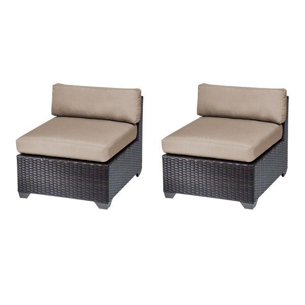 Shop Belle Armless Sofa 2 Per Box Free Shipping Today