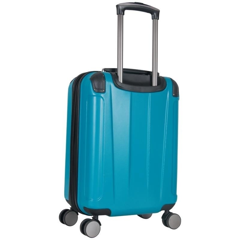 e946fe307376 Kenneth Cole Reaction 'Continuum' 20in Lightweight Hardside 8-Wheel Spinner  Expandable Carry-On Luggage With Corner Guards