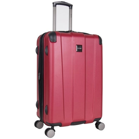 """Kenneth Cole Reaction Continuum 24"""" Lightweight Hardside 8-Wheel Spinner Expandable Checked Luggage With Corner Guards"""