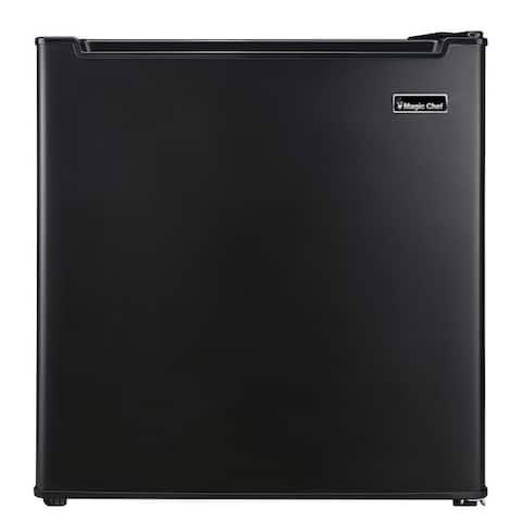 Magic Chef 1.7 cu. ft. Freezer-less Mini Fridge in Black MCAR170BE