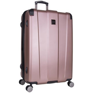 """Kenneth Cole Reaction 'Continuum' 28"""" Lightweight Hardside 8-Wheel Spinner Expandable Checked Luggage With Corner Guards"""
