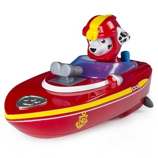 Paw Patrol Paddlin' Pup Sea Patrol Vehicles - Marshall