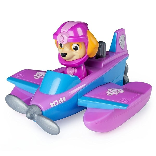 Paw Patrol Paddlin' Pup Sea Patrol Vehicles - Skye