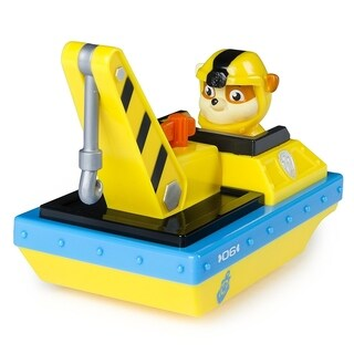 Paw Patrol Paddlin' Pup Sea Patrol Vehicles - Rubble
