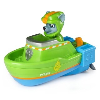 Paw Patrol Paddlin' Pup Sea Patrol Vehicles - Rocky