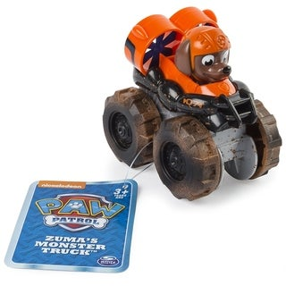 Paw Patrol Rescue Racers - Zuma's Monster Truck
