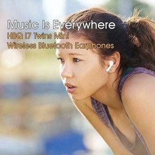 HBQ I7 TWS Twins Wireless Earbuds Mini Bluetooth Headset Earphone