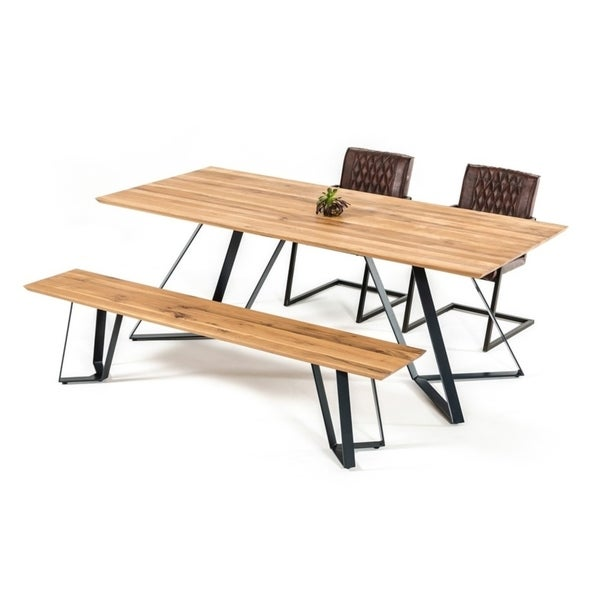 Nova Domus Pisa Modern Drift Oak Dining Table - Shop Nova Domus Pisa Modern Drift Oak Dining Table - Free Shipping