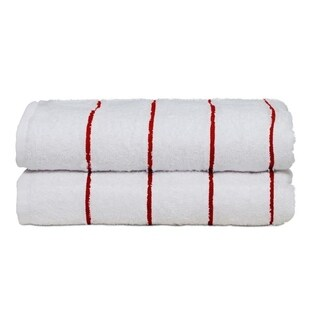 Ample Decor 100% Cotton Extra Absorbent Beach Towels set of 2