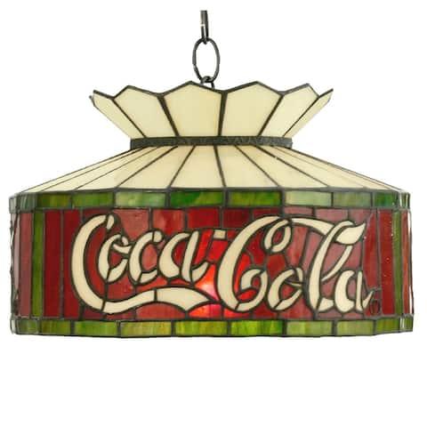 16 Inch Wide coca-cola Pendant