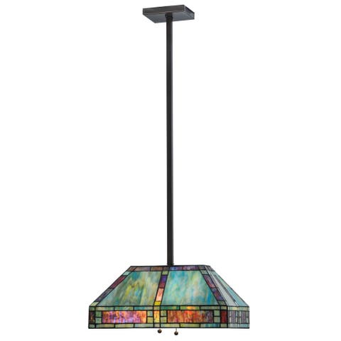 20 Inch l chaves oblong Pendant