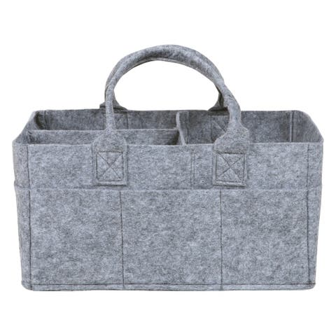 Gray Felt Storage Caddy