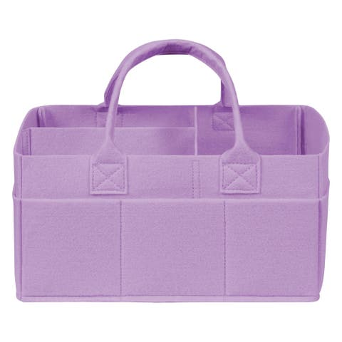Lavender Felt Storage Caddy