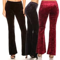 Icy Velvet Flare Pants