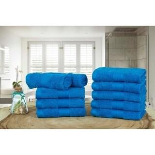 Ample Decor 100% Ringspun Cotton -10 Pcs Washcloth