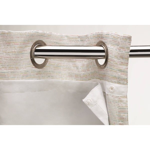 Shop Sharper Image Blackout Snap On Curtain Liner On Sale Free