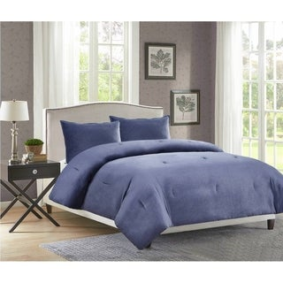 Heathered Velvet Comforter Mini Set (More options available)