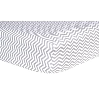 Shop Trend Lab Chevron Flannel Crib Sheets Pack Of 2