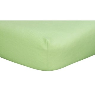 Sage Deluxe Flannel Fitted Crib Sheet