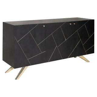 Magnus Glam Brown and Gold Sideboard Buffet