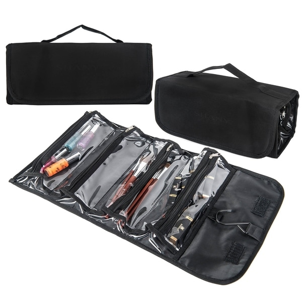 SHANY Jet Setter Rolling Hanged Storage Bag - For Travel and at Home Use. Opens flyout.