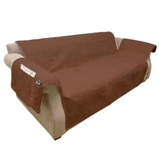 100% Waterproof Furniture Cover for Couch/Sofa (Brown)