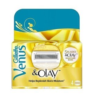 Gillette Venus & Olay Refill Blade Cartridges, 6 Count