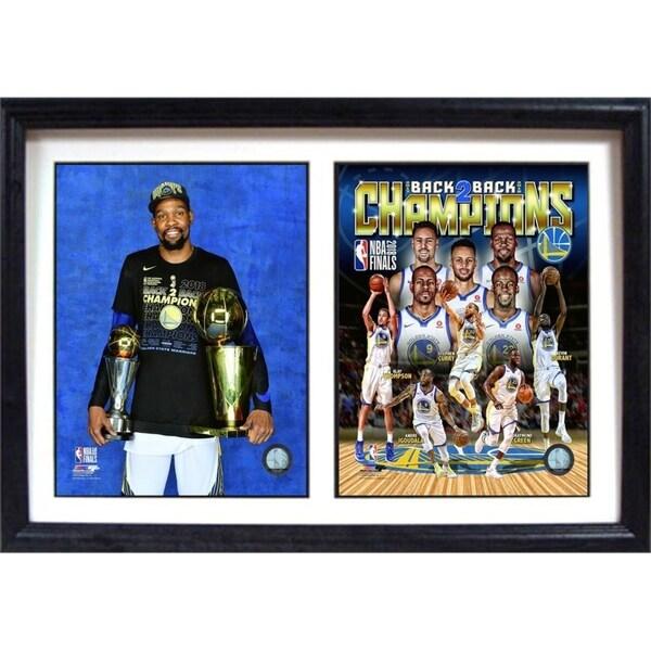 Shop Golden State Warriors 2018 Champions Mvp 12x18 Double Photo