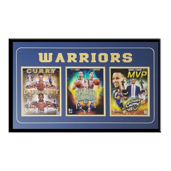 Shop Golden State Warriors Commemorative 3 Photo Frame Ft Curry