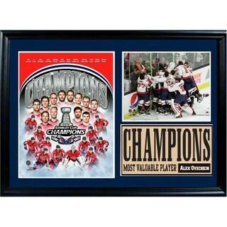 Washington Capitals 2018 Champions Deluxe Photo Frame