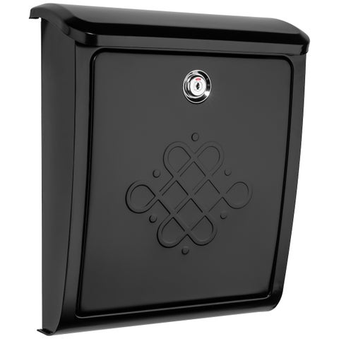 Bordeaux Locking Wall Mount Mailbox