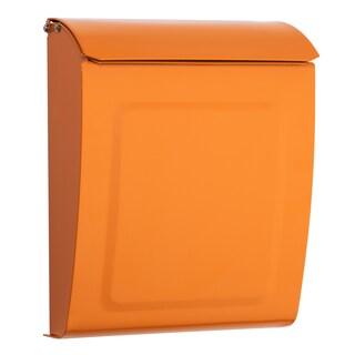 Aspen Locking Wall Mount Mailbox (Option: Orange)