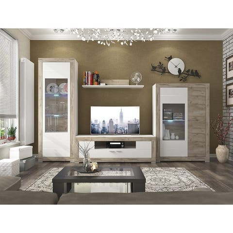 PUERO Small TV Stand