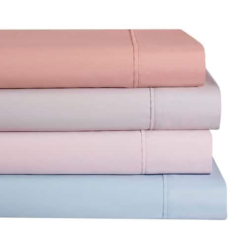 Ellen Tracy Luxury Premium Solid Deep Pocket Sheet Sets