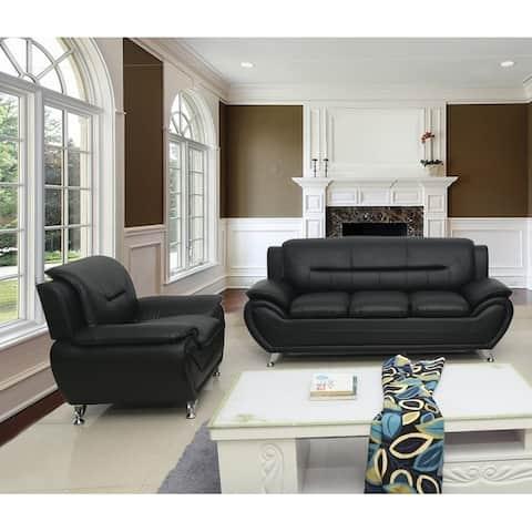 Michael Segura Sofa+Chair Living Room Set