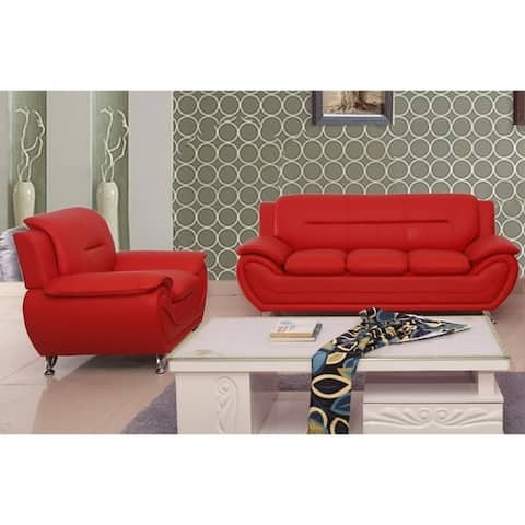 Michael Segura Sofa+Chair Living Room Set