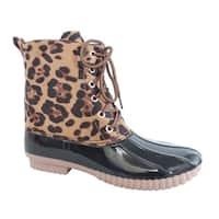 Yoki-Dylan-33 Women's Rain Duck Boots