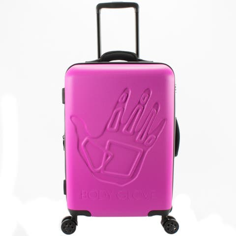 Body Glove Redondo Pink 22-inch Carry On Hardside Spinner Suitcase - 9.0 In. X 14.5 In. X 21.5 In.