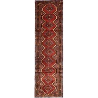 eCarpetGallery  Hand-knotted Koliai Dark Copper Wool Rug - 2'8 x 9'5