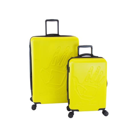 Body Glove Redondo Yellow 2-piece Hardside Spinner Luggage Set - 12.0 In. X 20.0 In. X 30.0 In.