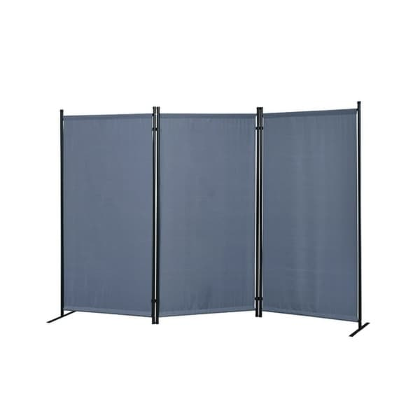 Galaxy Outdoor/Indoor 3-panel Room Divider with Heavy Duty Metal Tubing Frame and Water Resistant Fabric. Opens flyout.