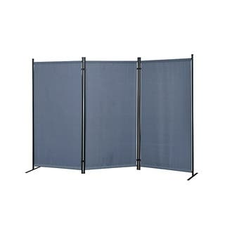 3a0a1df7b43e Buy Fabric Room Dividers   Decorative Screens Online at Overstock ...
