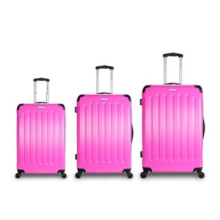 TravelerSpace Boca 3-piece Lightweight Hardside Spinner Luggage Set