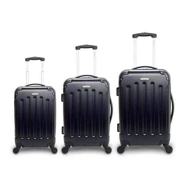 2edca15c0 Shop TravelerSpace Boca 3-piece Lightweight Hardside Spinner Luggage ...