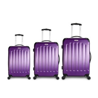 TravelerSpace Boca 3-piece Lightweight Hardside Spinner Luggage Set